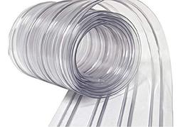 Resilia - Plastic Vinyl Strip Curtain for Walk in Freezers,