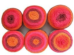 Bernat Pop! Yarn, 6-Pack
