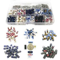 150 PCs Porcelain Ceramic Beads for Jewelry Making DIY Kit w