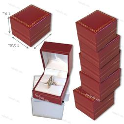 15- RED RING BOXES IN BULK LOVELY RED RING BOXES BEAUTIFUL R