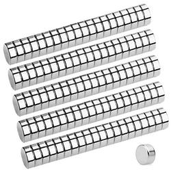GBYMIUY Refrigerator Magnets, 100PCS 6×3MM Small Round Cyli
