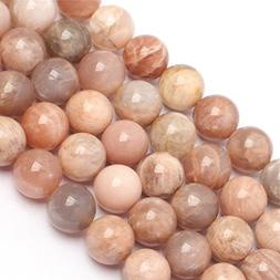 Natural Round Sun Gemstone Loose Beads In Bulk For Jewelry M