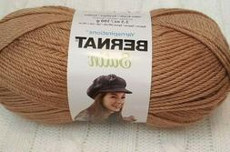 Bernat Satin Yarn in Sable, Buy 6 get 2 free!