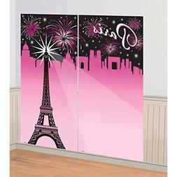 Scene Setter GRADUATION party wall decor kit CLASS OF 2017 P