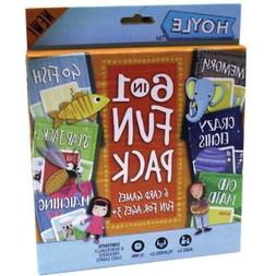 SET OF 6 Bulk Lot of 6-in-1 Card Game Sets for Kids: Matchin