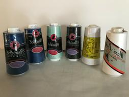 Sewing Thread for Serger New still in plastic LOT of 6 -3000
