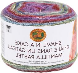 Lion Brand Shawl in a Cake Yarn-Mellow Muse - 3 Pack