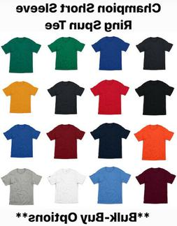 short sleeve ring spun t shirt cp10