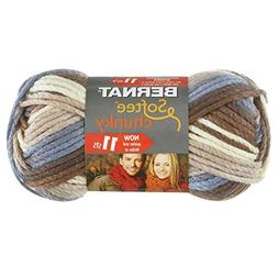 Bernat Softee Chunky Ombre Yarn, Natures Way by Bernat