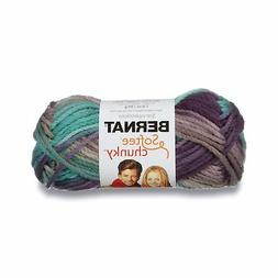 Bernat Softee Chunky Ombre Yarn, 2.8 oz, Shadow, 1 Ball