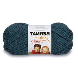 Bernat Softee Chunky Yarn, Teal, Single Ball