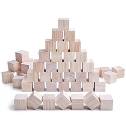 Glitz Star 24pcs Solid Wood Craft Blocks DIY Crafts Carving