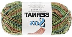 Bernat Sox Yarn, 1.7 Ounce, Woodsman, Single Ball