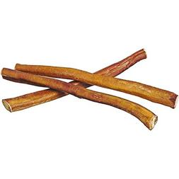 "12"" Straight Bully Sticks for Dogs or Puppies  All Natural &"