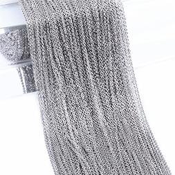 Super Lover 10m Stainless Steel Cable Chain Link in Bulk for