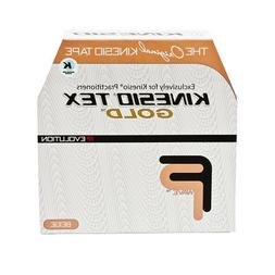 """Kinesio Tex Tape -Color: Beige - 2"""" x 103.3 ft - Economical"""
