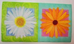 TWO  Paper Napkins Decoupage Floral IN BLOOM Daisy 33cm X 40