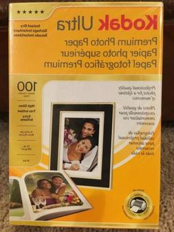 Kodak Ultra Premium Photo Paper, 4 x 6 inches High Gloss 100
