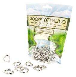 Country Brook Design | 3/4 Inch Welded D-Rings