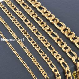 Wholesale In Bulk 3mm/5mm/7mm Yellow Gold Plated Stainless S