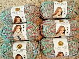 Lion Brand Wool-Ease Thick & Quick Yarn  Lot of 6 in Eden